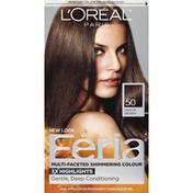 Feria Permanent Haircolour, Gel, Medium Brown 50