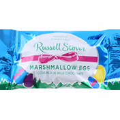 Russell Stover Marshmallow Egg, Covered in Milk Chocolate