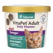 NaturVet VitaPet Adult Daily Vitamins for Cats
