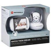 Motorola Baby Monitor, Remote Wireless Video
