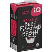 Inspired Organics Broth, Beef, Organic