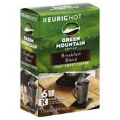 Green Mountain Coffee, Light Roast, Breakfast Blend, K-Cup Pods