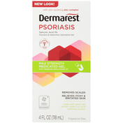 Dermarest Psoriasis Max Strength Medicated Gel with Targeted Application Tip