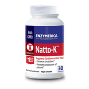 Enzymedica Dietary Supplement, Natto-K, Capsules, Bottle