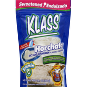 Klass Drink Mix, Horchata, Rice and Cinnamon Flavored