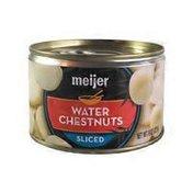 Meijer Sliced Water Chestnuts