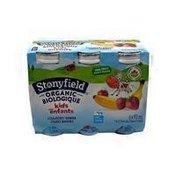 Stonyfield Organic Strawberry Banana Drinkable Yogurt