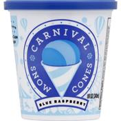 Carnival Snow Cones Snow Cones, Blue Raspberry