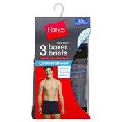 Hanes Boxer Briefs, L
