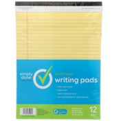 Simply Done Perforated Writing Pads