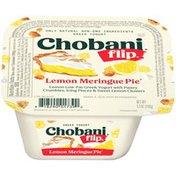Chobani Yogurt, Greek, Lemon Meringue Pie