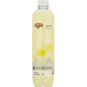 Hannaford Sparkling Water Beverage, Lemonade, Sparkling Chill
