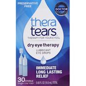 Thera Tears Eye Drops, Lubricant
