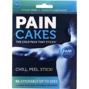 PAINCAKES Cold Pack, Stickable, Blue, Large
