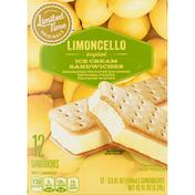 Limited Time Originals Ice Cream Sandwiches, Limoncello