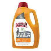 Nature's Miracle Organic Oxy Cat Stain & Odor Remover