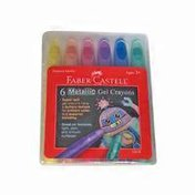 Faber-Castell Metallic Gel Crayons