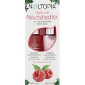 Nailtopia Nourished Kit, Raspberry