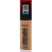 L'Oreal Foundation, Sunscreen, Amber 495, Broad Spectrum SPF 25