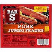 Bar-S Pork Jumbo Franks