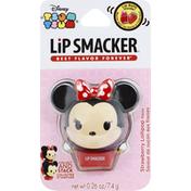 Lip Smacker Lip Balm, Strawberry Lollipop Flavor, Disney Tsum Tsum
