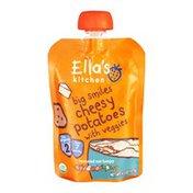 Ella's Kitchen Big Smiles Cheesy Potatoes with Veggies Organic - 7+ Months