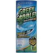 Green Gobbler Drain Opening Pacs, Pre-Measured