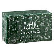 Villager Juice Beverage, Apple, 8 Pack