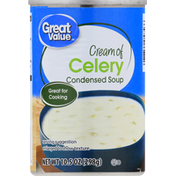 Great Value Condensed Soup, Cream of Celery