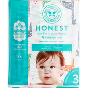 Honest Tea Diapers, Tie-Dye for, Giggly Boo, Size 3 (16-28 lbs)