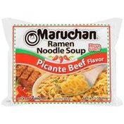 Maruchan Hot & Spicy Picante Beef Flavor Ramen Noodle Soup