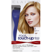 Nice 'n Easy Nice n Easy Root Touch-Up, 8 Medium Blonde, Permanent Hair Color, Kit Female Hair Color