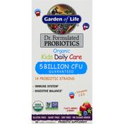 Garden of Life Probiotics, Organic, Kids Daily Care, Tasty Berry Cherry