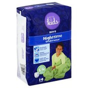 Baby Basics Underwear, Nighttime, Boys, Small Medium (38-65 lb)