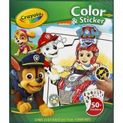 Crayola Color & Sticker, Nickelodeon Paw Patrol
