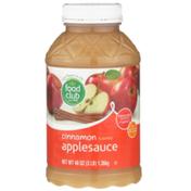 Food Club Cinnamon Flavored Applesauce