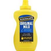 Plochman's Yellow Mustard, Original Mild, Classic Signature Zip