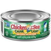 Chicken of the Sea Light Tuna in Water 50% Less Sodium