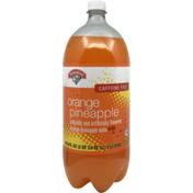 Hannaford Caffeine Free Orange Pineapple Soda