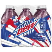 Mtn Dew United with 3 Flavors Soda