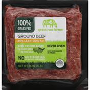 Grass Run Farms Beef, Ground, 80/20