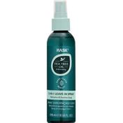 HASK Leave-In Spray, 5-in-1, Tea Tree Oil & Rosemary