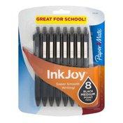 Paper Mate Paper-Mate Ink Joy Black Medium Point Pens - 8 CT