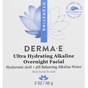 DERMA E Overnight Facial, Hydrating