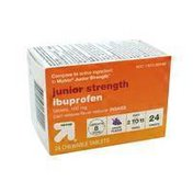Up&Up Junior Strength Ibuprofen 100 Mg Pain Reliever / Fever Reducer (nsaid) Chewable Tablets, Grape