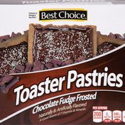 Best Choice Chocolate Fudge Frosted Toaster Pastries