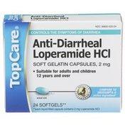 TopCare Anti- Diarrheal Loperamide Hcl Soft Gelatin Capsules