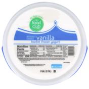 Food Club Vanilla Lowfat Frozen Yogurt
