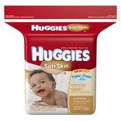 Huggies Soft Skin Triple Clean Shea Butter Baby Wipes