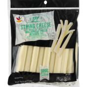 SB String Cheese, Reduced Fat, Mozzarella, Low-Moisture Part Skim